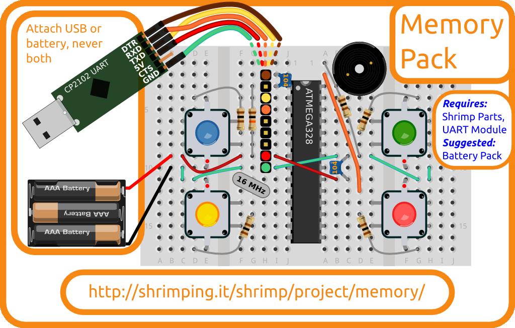 simon memory game instructions